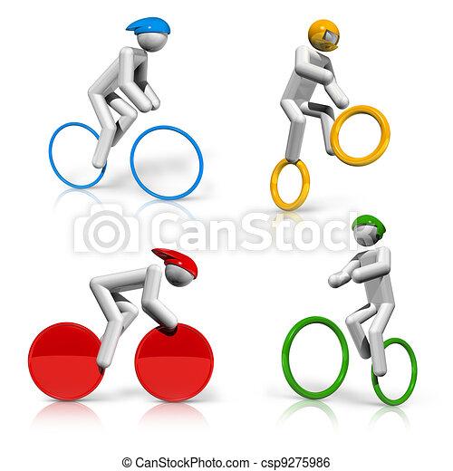 sports symbols icons series 5 - csp9275986