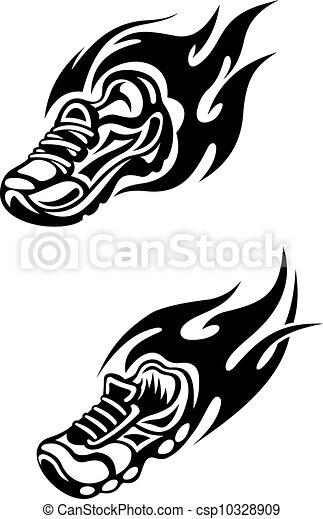 Sports tattoos - csp10328909