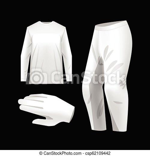 Sportswear Kit Mockup Templates White Motocross Sportswear Kit