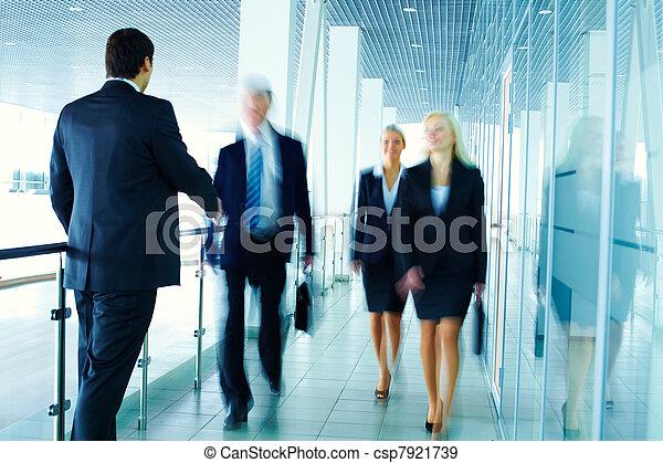 spotkanie, handlowy - csp7921739