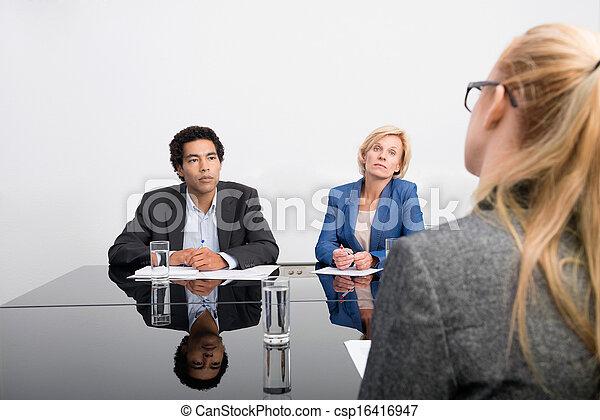 spotkanie, handlowy - csp16416947