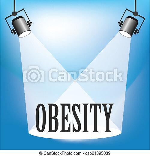 Spotlight Obesity - csp21395039
