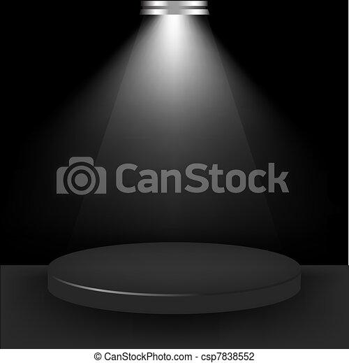 Spotlight Presentation Room - csp7838552