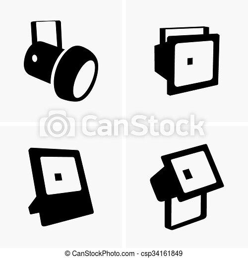 Spotlights - csp34161849