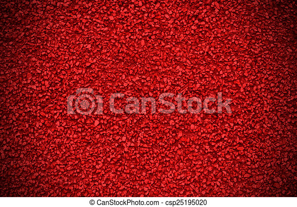 Spotted pattern on a red background - csp25195020