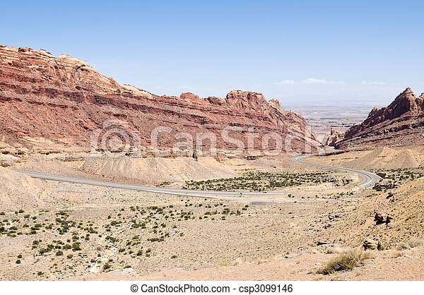 Spotted Wolf Canyon - csp3099146
