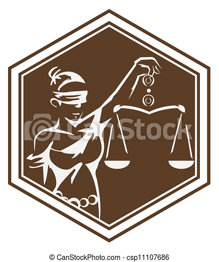 sprawiedliwość, symbol, dama - csp11107686