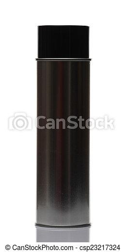 spray bottle, isolated on white background. - csp23217324