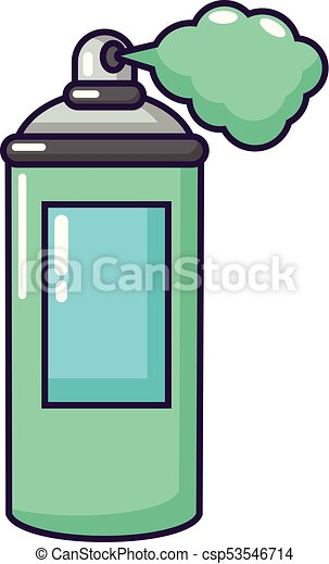 spray paint icon cartoon style spray paint icon cartoon vector rh canstockphoto com