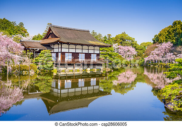 Spring at Heian Shrine - csp28606005