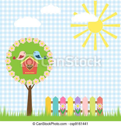 Spring background - csp9161441