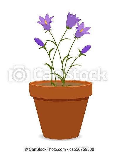 spring bluebell flowers background vector illustration eps10 vector rh canstockphoto com spring vector background free spring vector free