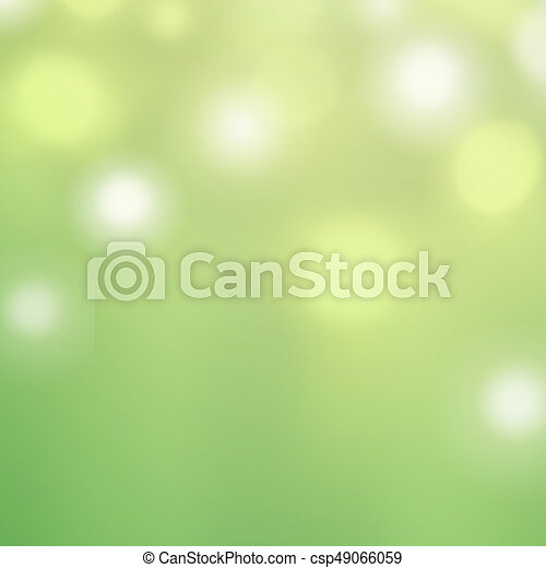 Spring Bokeh Background For Website Pattern Wallpaper Defocused Green And White Boke Abstract Stock Photo