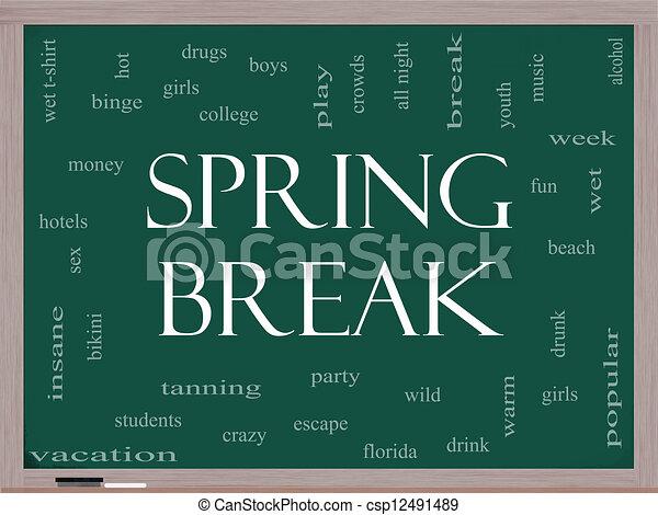 Spring Break Clip Art Free