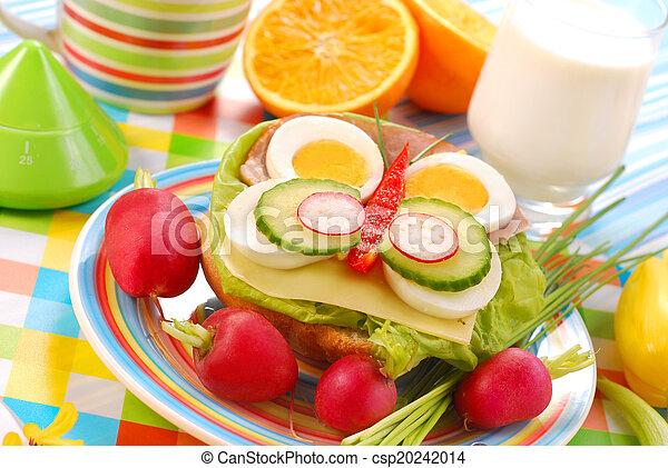 spring breakfast for child - csp20242014