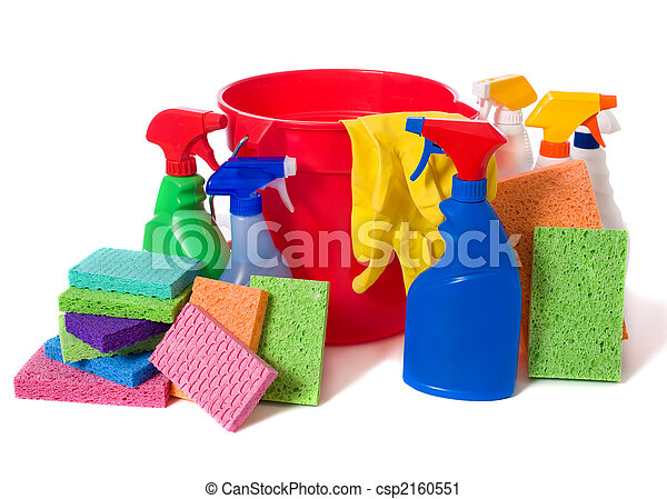 Spring Cleaning Supplies - csp2160551