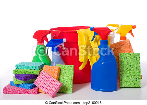 Spring Cleaning Supplies - csp2160216