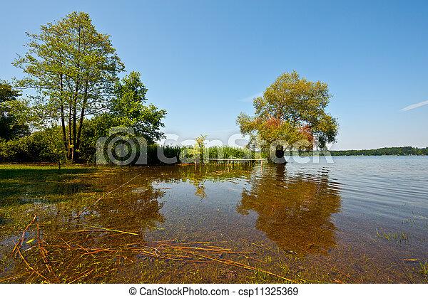 Spring Flooding - csp11325369