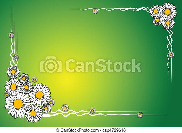 Spring floral background - csp4729618