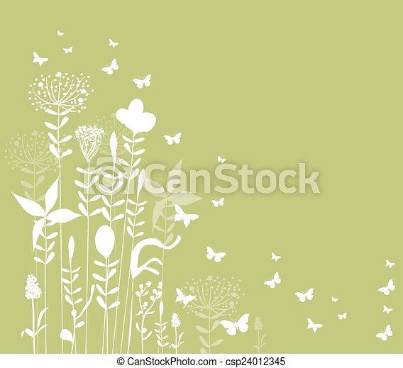 spring florals background - csp24012345
