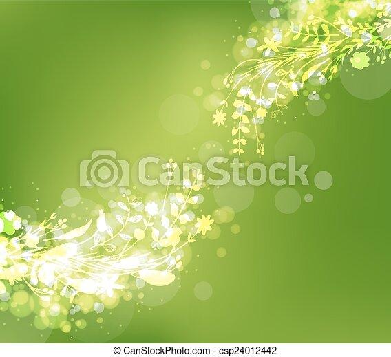 spring florals background - csp24012442