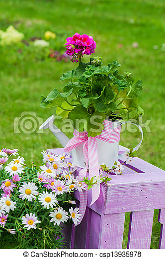 Spring flowers - csp13935978