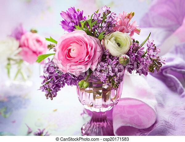 Spring flowers - csp20171583