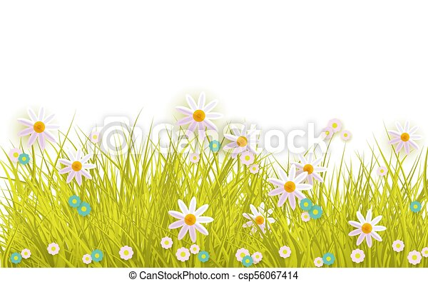illustration grass Greeting Card summer meadow turquoise and white summer greetings
