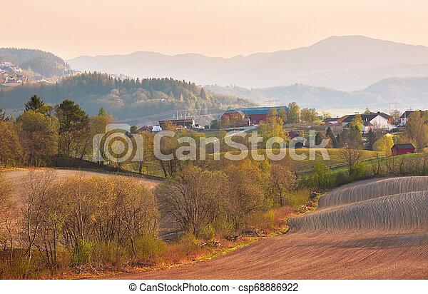 Spring in Norway - csp68886922