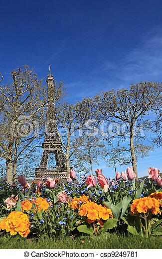 Spring in Paris - csp9249781