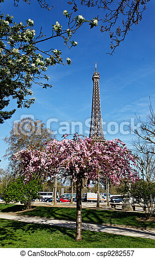 Spring in Paris - csp9282557