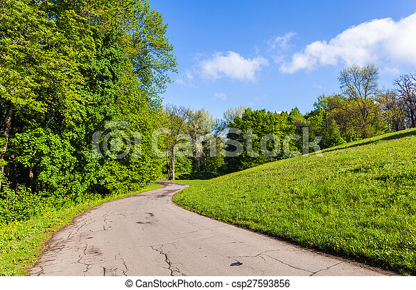 spring landscape Park - csp27593856