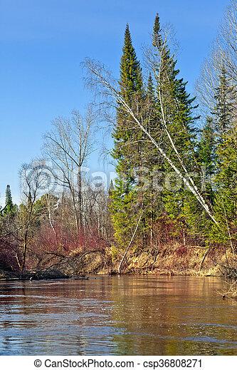 Spring landscape. - csp36808271