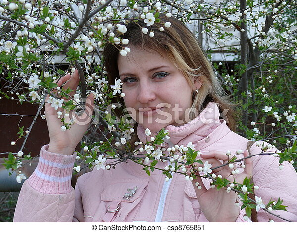 spring mood - csp8765851