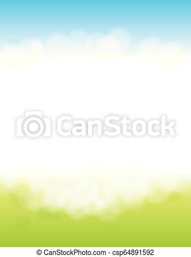 Spring or Summer Background - csp64891592