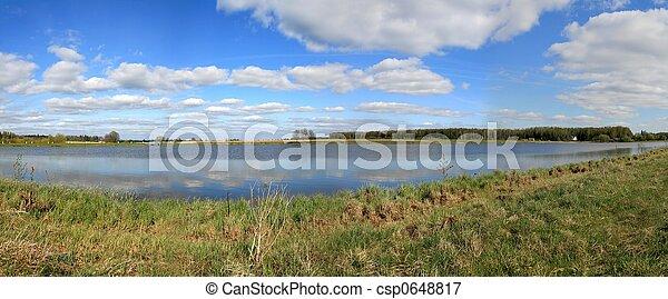 Spring panorama - csp0648817