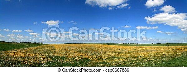 Spring panorama - csp0667886