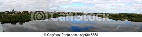 Spring panorama - csp0648853