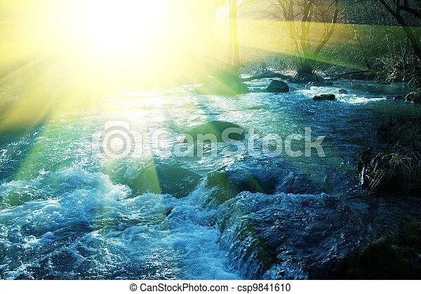 Spring river - csp9841610