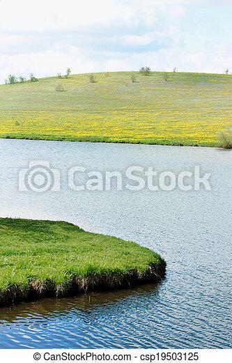 spring riverside - csp19503125