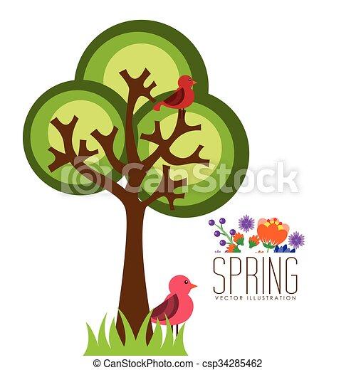 spring season design spring season design vector clip art rh canstockphoto co uk spring season clipart images spring season clipart