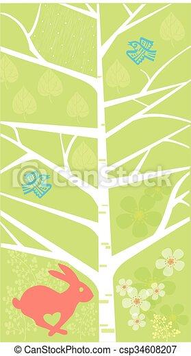 Spring season - csp34608207