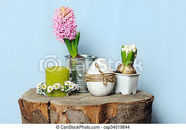 spring still life - csp34019844