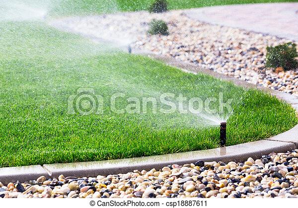 Sprinklers - csp18887611