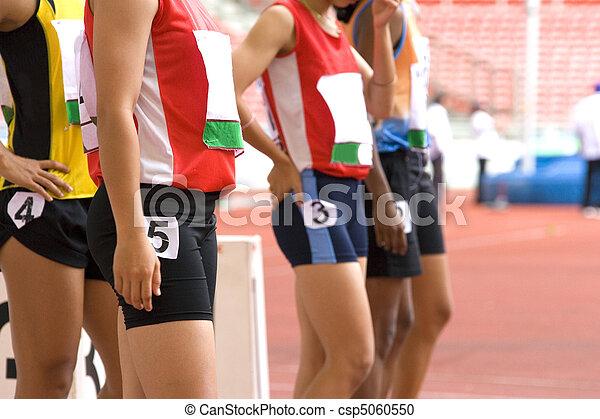 Sprint Athleten - csp5060550
