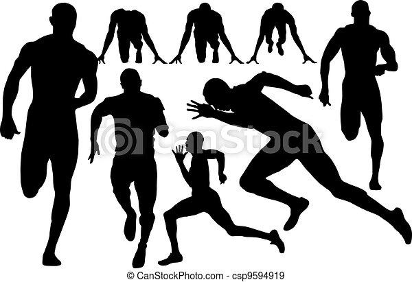 sprint silhouette - csp9594919