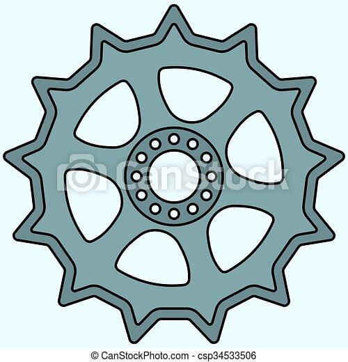 Sprocket wheel - csp34533506