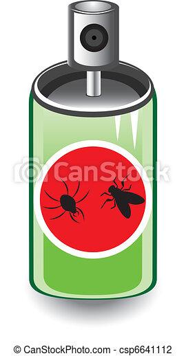 spruzzo insetto - csp6641112
