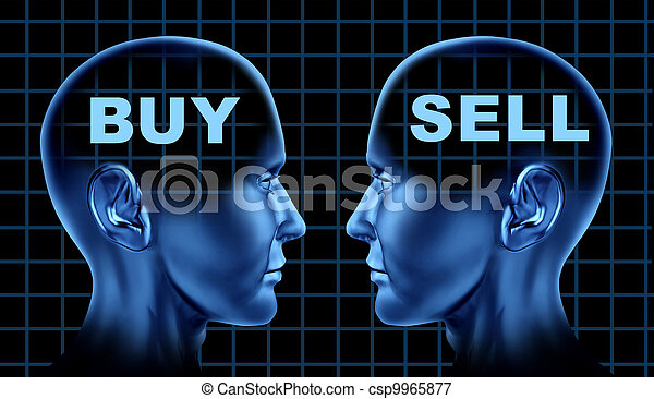 sprzedawać, symbol, kupować, handlarski - csp9965877