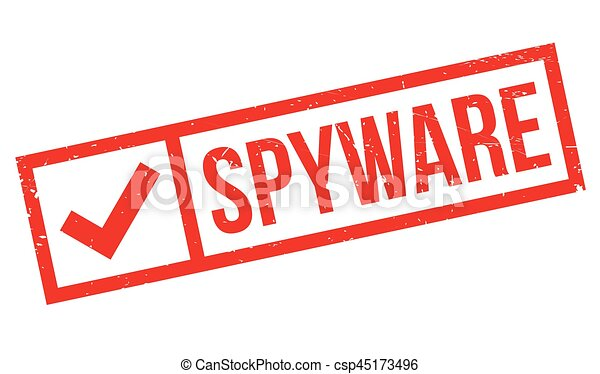 Spyware rubber stamp - csp45173496
